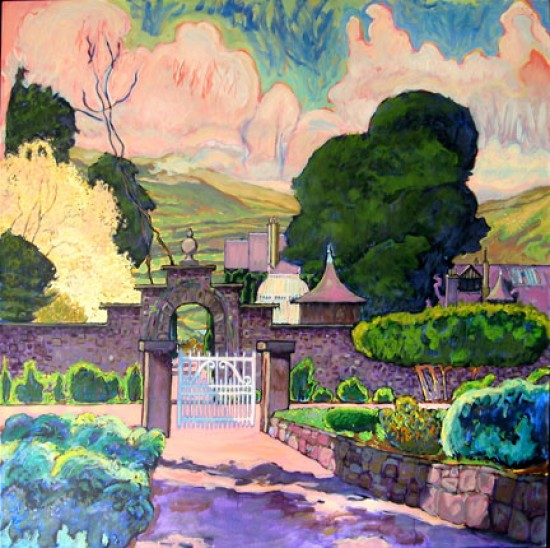 Richard Lang Chandler - Garden Gate at Bodnant