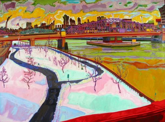 Richard Lang Chandler - Over the Harlem River