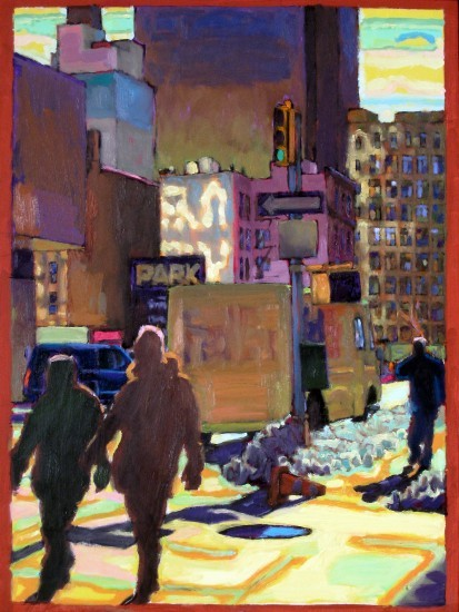 Richard Lang Chandler - Varick Street Light