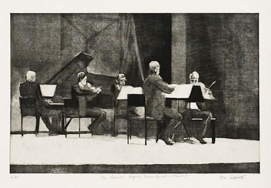 Peri Schwartz - Emerson Performing Brahms