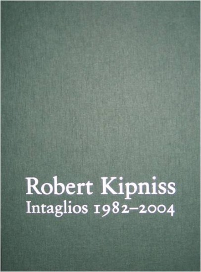 Publications - Robert Kipniss: Intaglios 1982-2004; Deluxe Edition