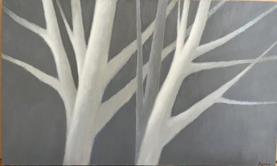 R Kipniss Paintings - Reaching III