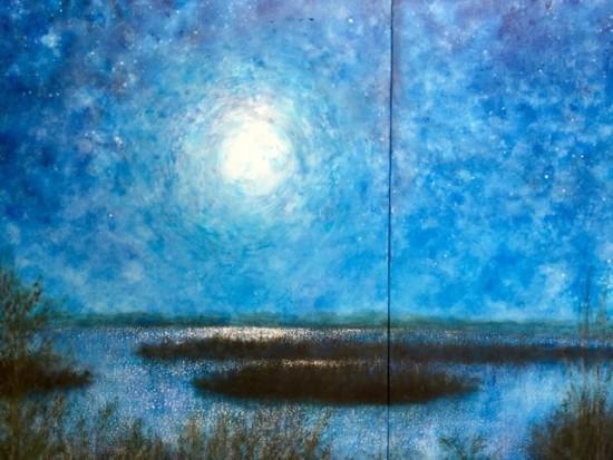 Rebecca Last - Manganese Moon detail