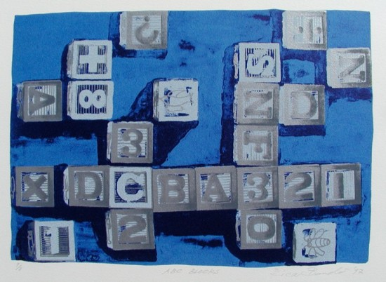 Rica Bando - ABC Blocks (Blue)