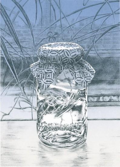 Rica Bando - Mason jar / Italian Paper