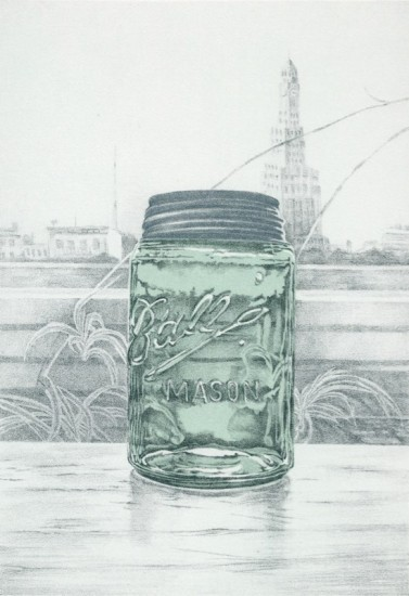 Rica Bando - Mason jar / Tower