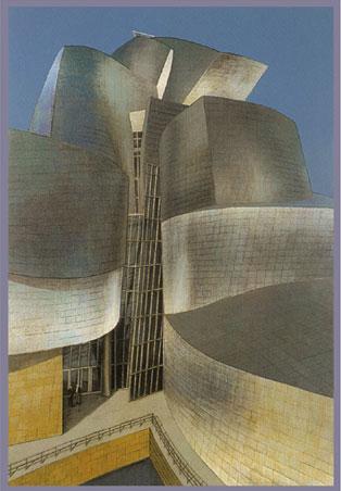 Richard Haas - Guggenheim, Bilbao
