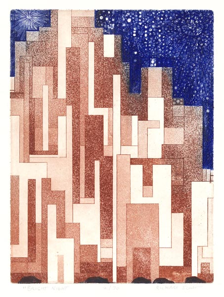 Richard Sloat - Prints - Bright Night