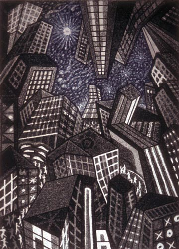 Richard Sloat - Prints - Clear Night
