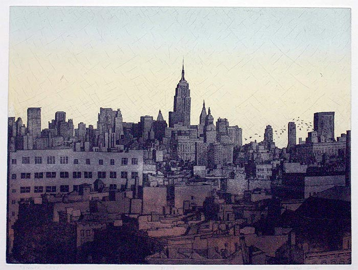 Richard Sloat - Prints - Inner City