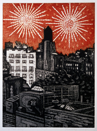 Richard Sloat - Prints - 4th of July