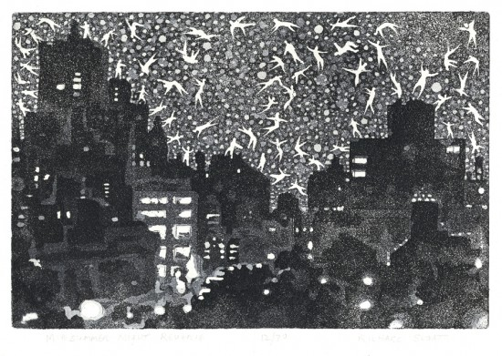Richard Sloat - Prints - Midsummer Night Reverie