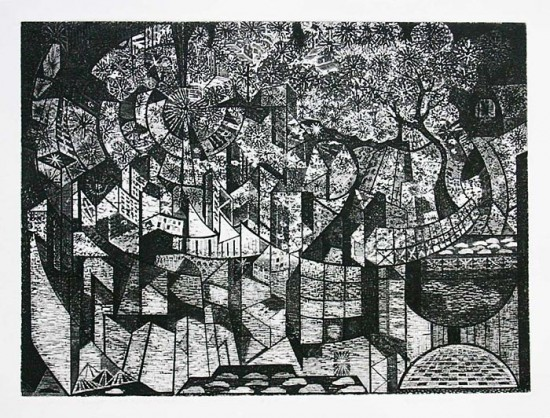 Richard Sloat - Prints - Silent City Celebration