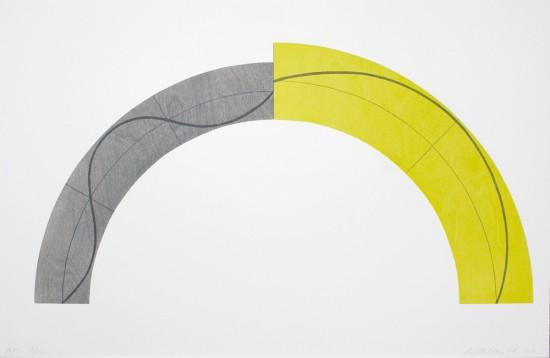 Robert Mangold - Divided Arc, 2010