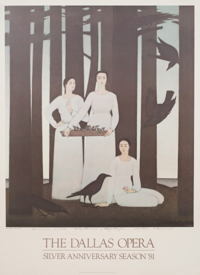 Todd Barnet - 91-Three Muses Poster, 1981
