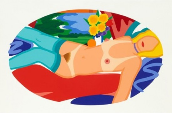 Tom Wesselmann - Beautiful Bedroom Kate, 1998