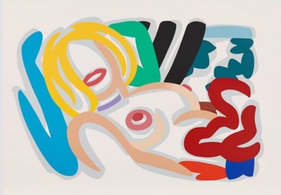 Tom Wesselmann - Big Blonde with Choker, 1992