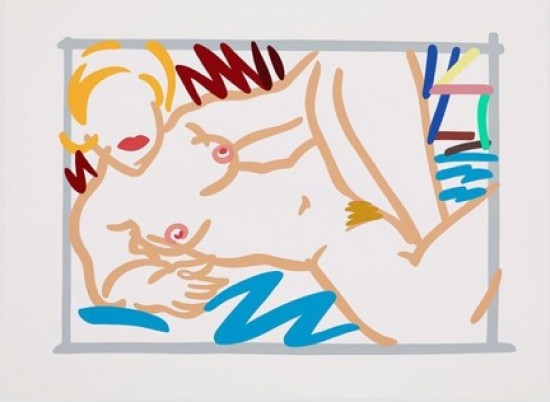 Tom Wesselmann - Judy with Blue Blanket, 1998