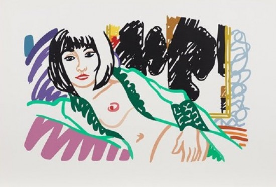 Tom Wesselmann - Monica in Robe with Motherwell, 1994