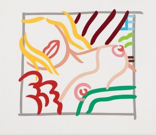 Tom Wesselmann - New Bedroom Blonde Doodle, 1991