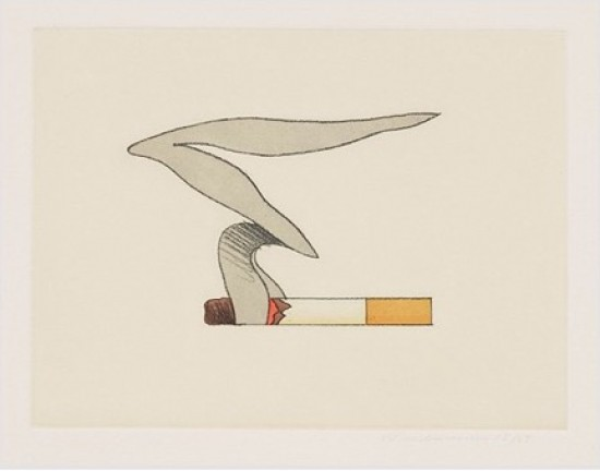 Tom Wesselmann - Smoking Cigarette #1, 1991