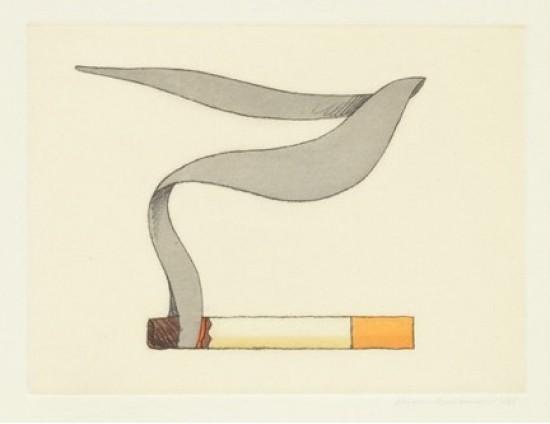 Tom Wesselmann - Smoking Cigarette #2, 1991