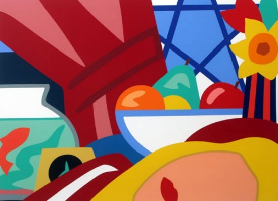Tom Wesselmann - Still Life with Bouquet, 1999