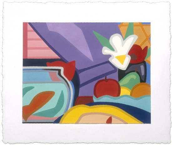 Tom Wesselmann - Still Life with Blonde and Goldfish, 2000