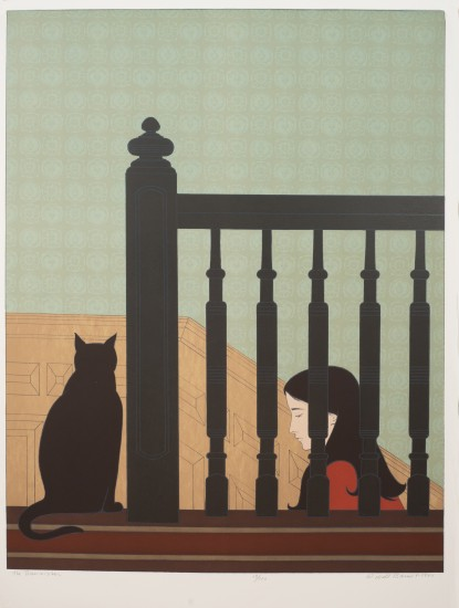 Will Barnet - Prints - Bannister, The