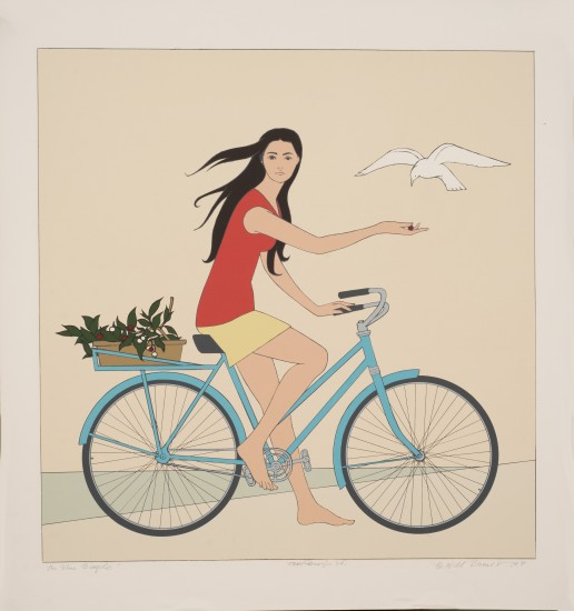 Will Barnet - Prints - Blue Bicycle