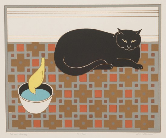 Will Barnet - Prints - Cat and Canary