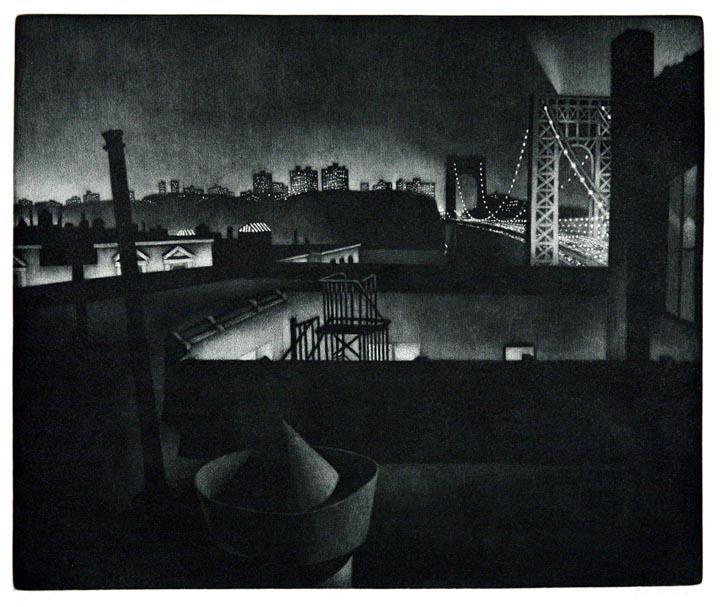 William Behnken - Sentimental Journey (George Washington Bridge)