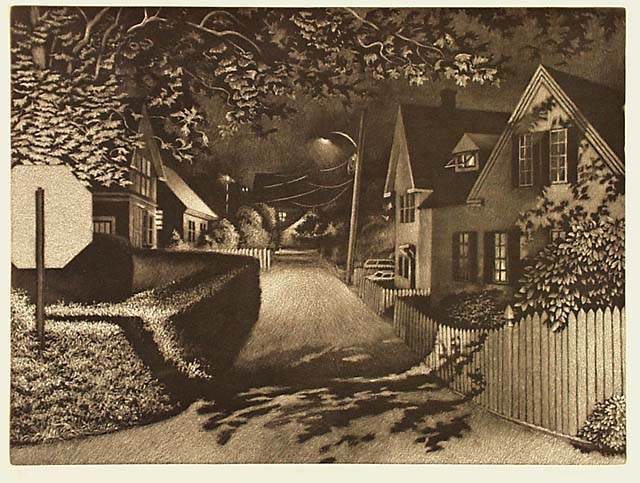 William Behnken - Under Lamplight