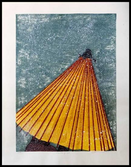 Joshua Rome Prints - Woodblock Prints - Covering Up