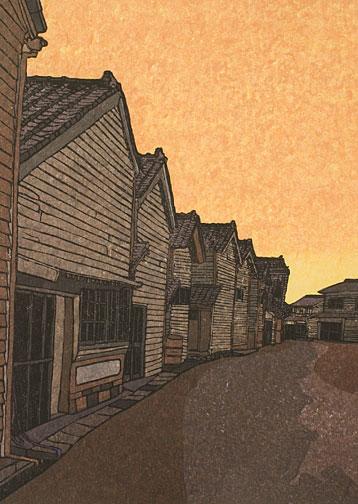 Joshua Rome Prints - Woodblock Prints - Forgotten Way