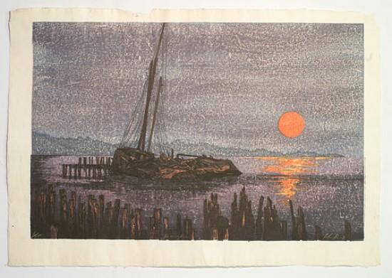Joshua Rome Prints - Woodblock Prints - Mixing Hours